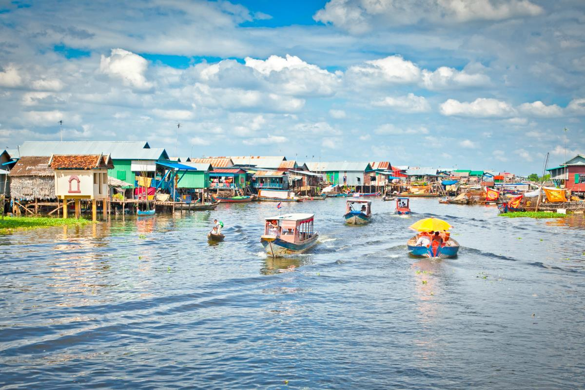 Kambodża – Jezioro Tonle Sap