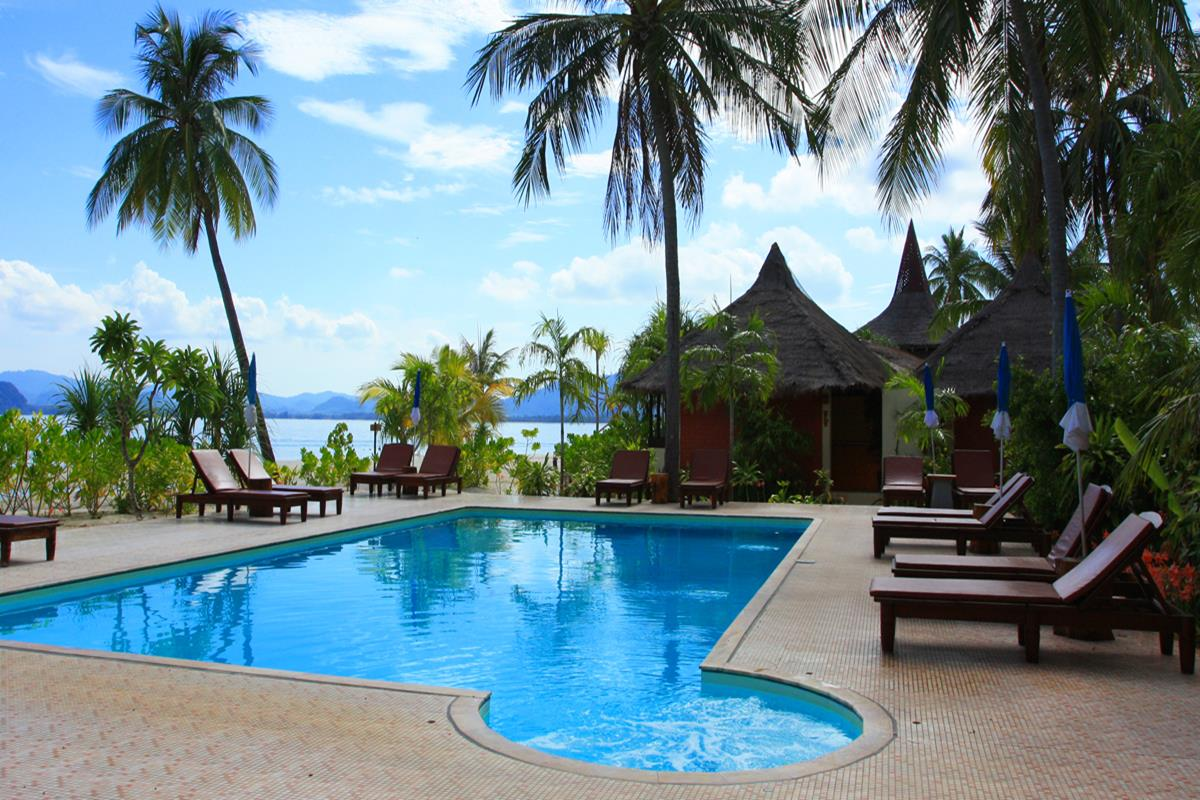 Koh Mook Sivalai Beach Resort – Basen