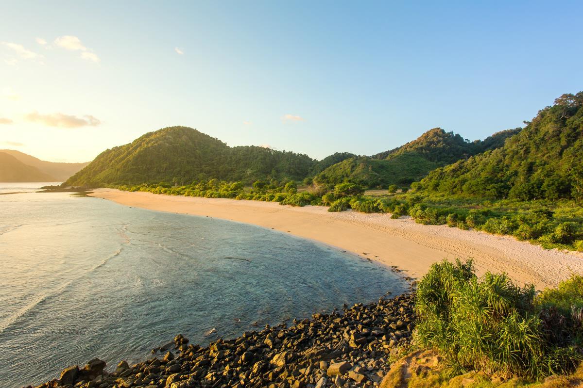 Lombok – Kuta Beach