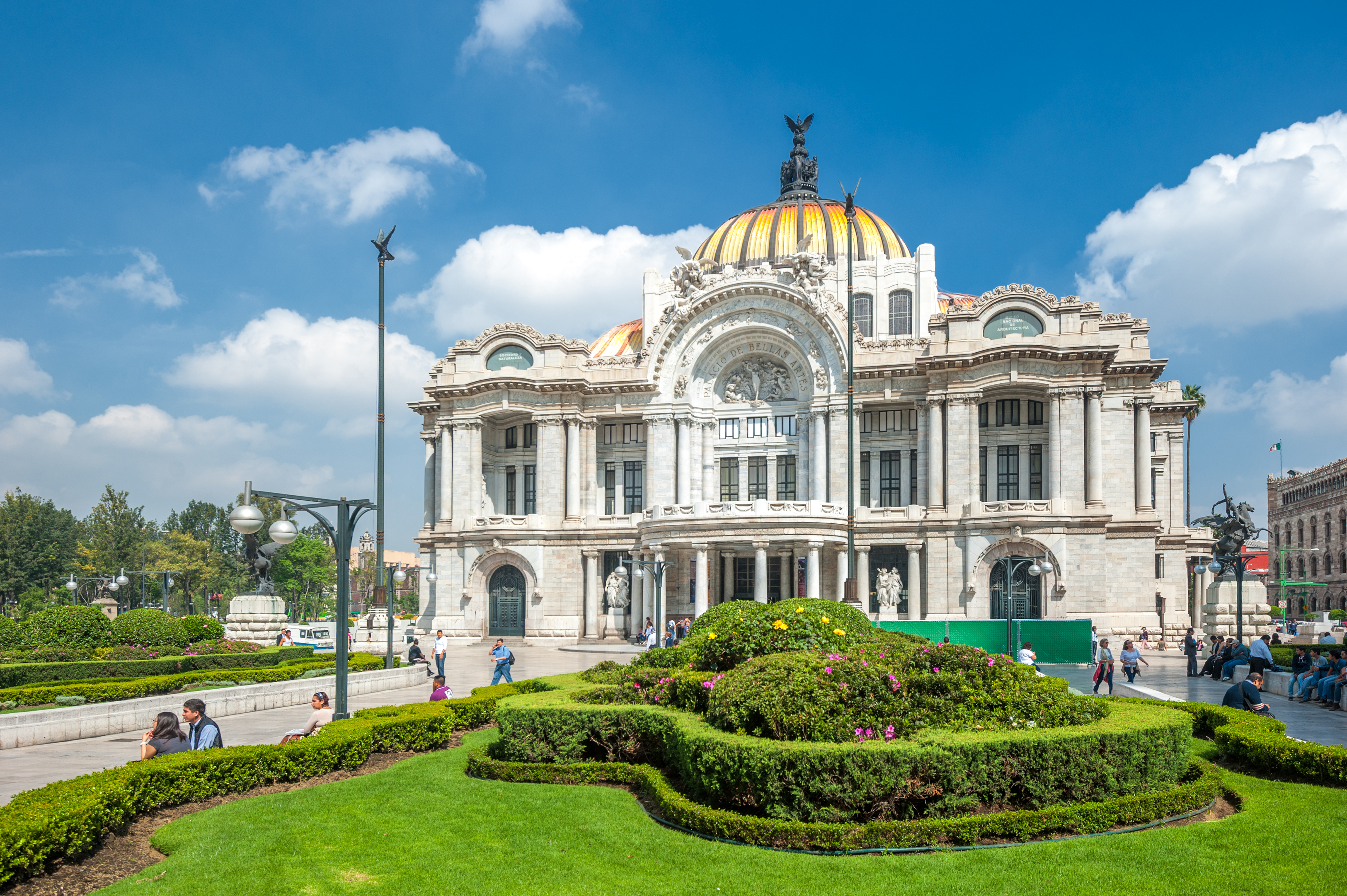 Mexico City – Pałac Sztuk Pięknych