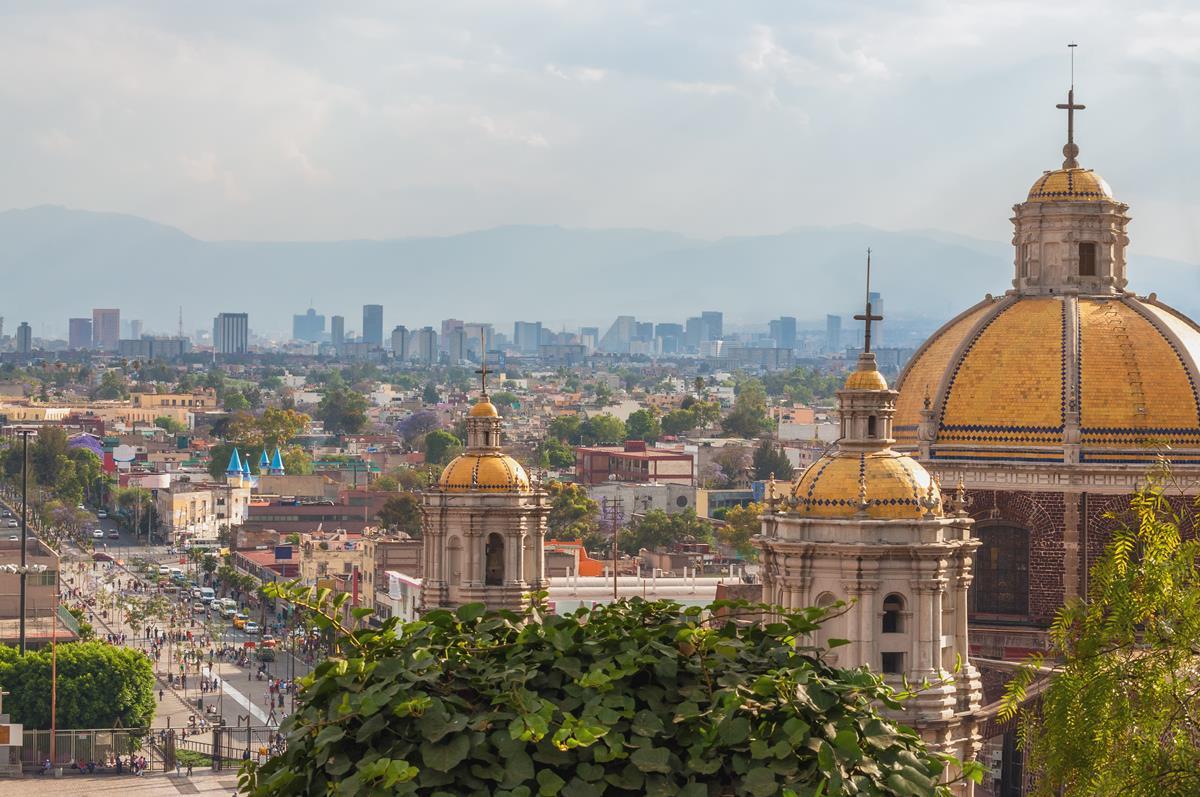 Mexico City – Bazylika Matki Boskiej z Gwadelupe