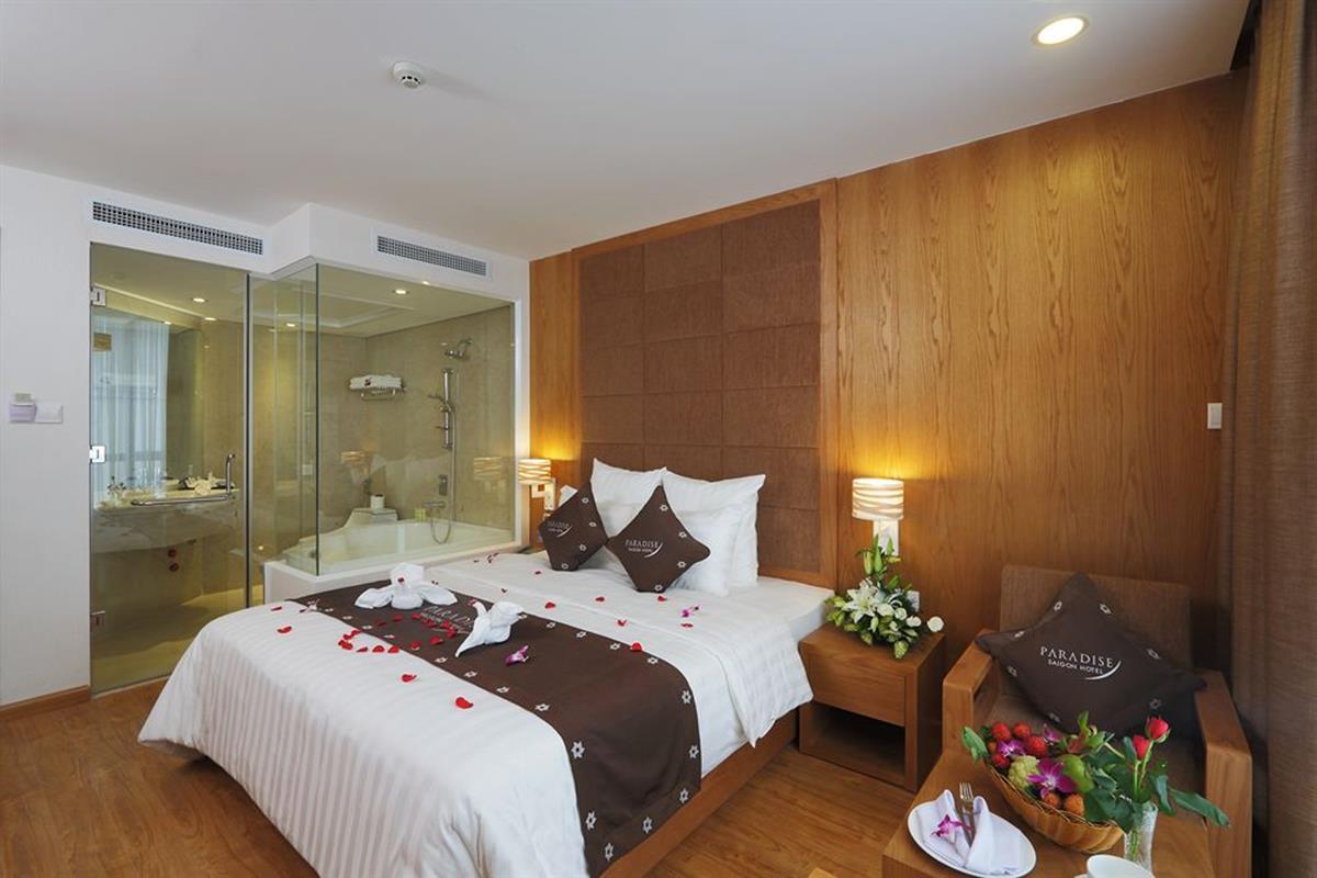 Paradise Saigon Boutique Hotel – Pokój Premium Deluxe
