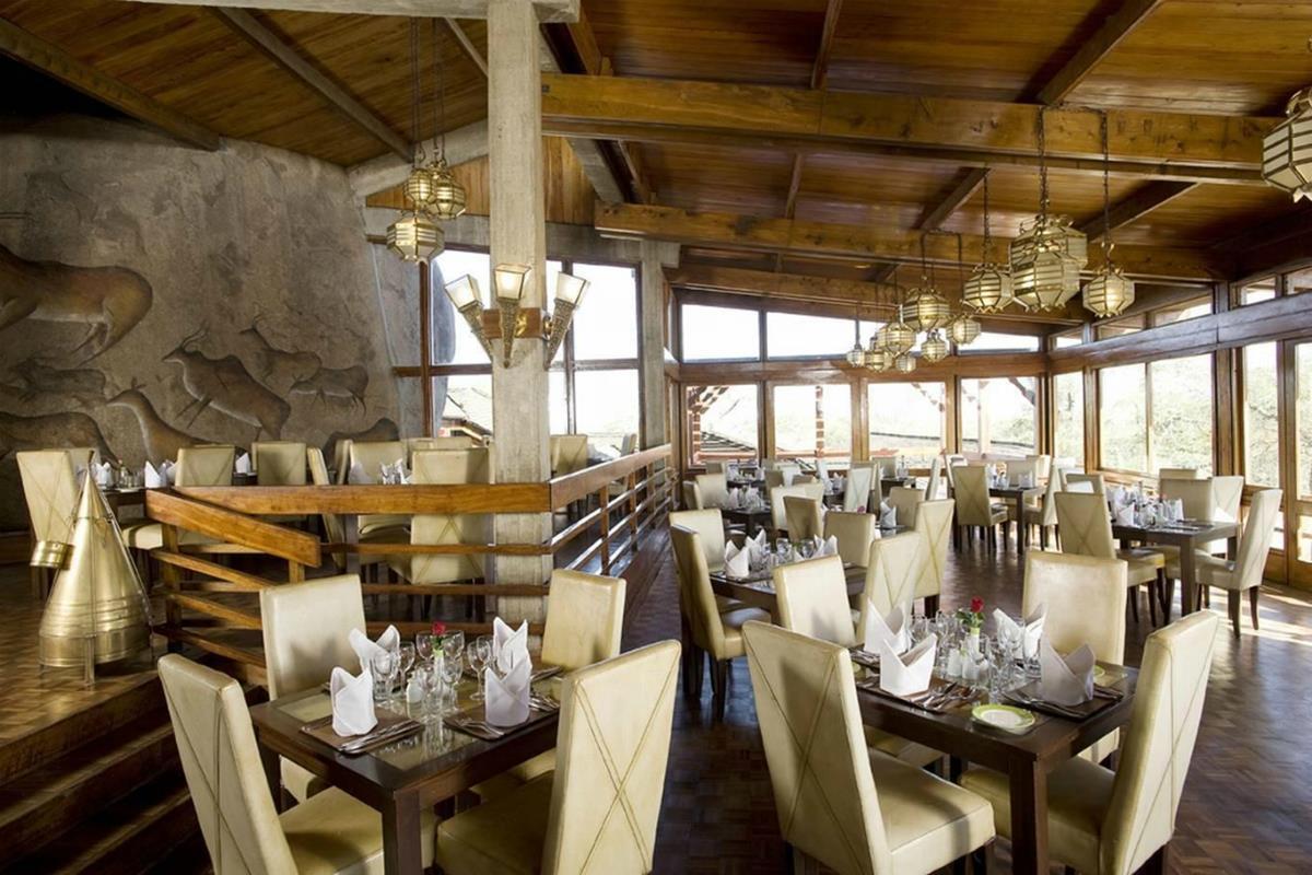 Seronera Wildlife Lodge – Restauracja