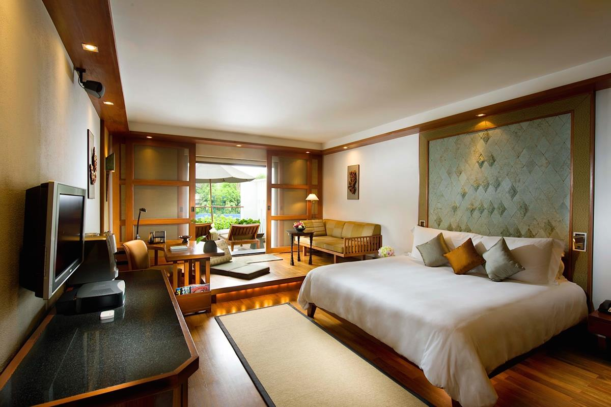 The Sukhothai – Terrace Deluxe Suite