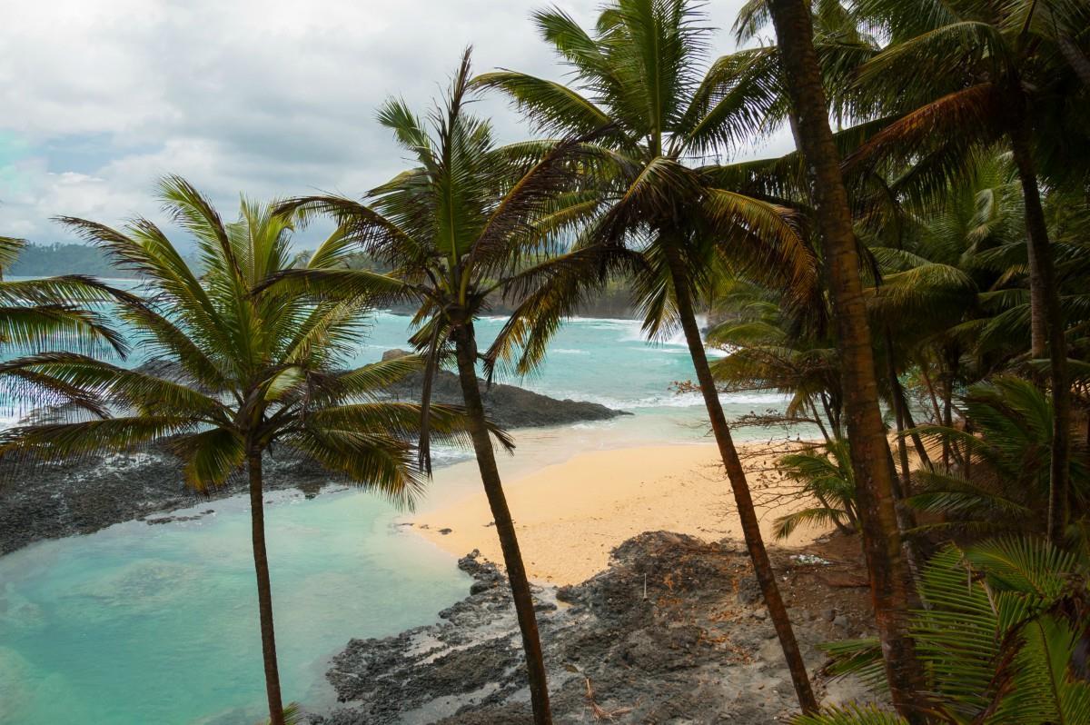 Wyspa Świętego Tomasza – Praia Priscina