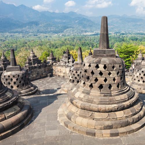 świątynie i wulkany Jawy miniaturka
