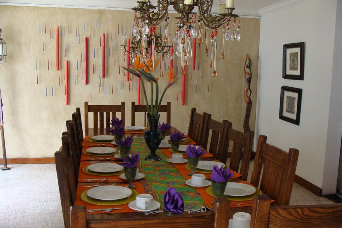 Casa de las Bugambilias – Jadalnia