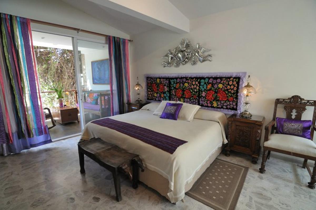 Casa de las Bugambilias – Pokój Violetas