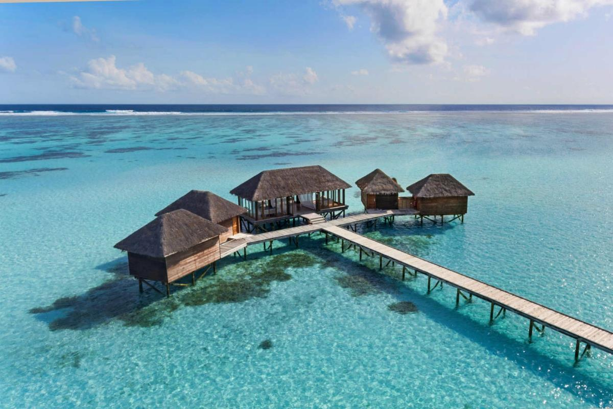 Conrad Maldives Rangali – Spa na wodzie