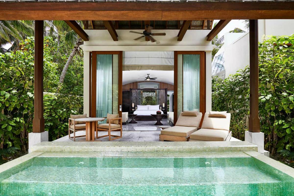 Conrad Maldives Rangali – Willa Deluxe przy plaży