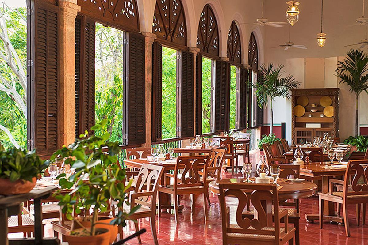 Hacienda Temozon – Restauracja