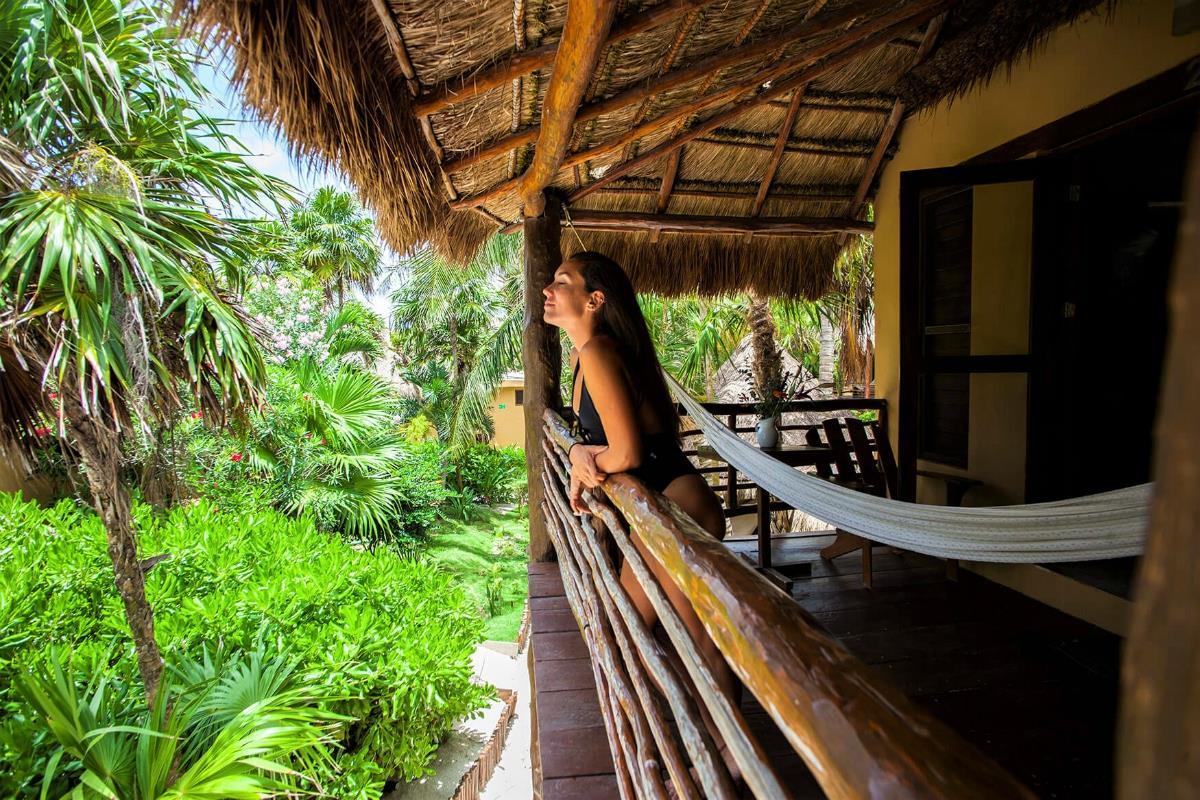 Hip Tulum – Pokój z widokiem na ogród