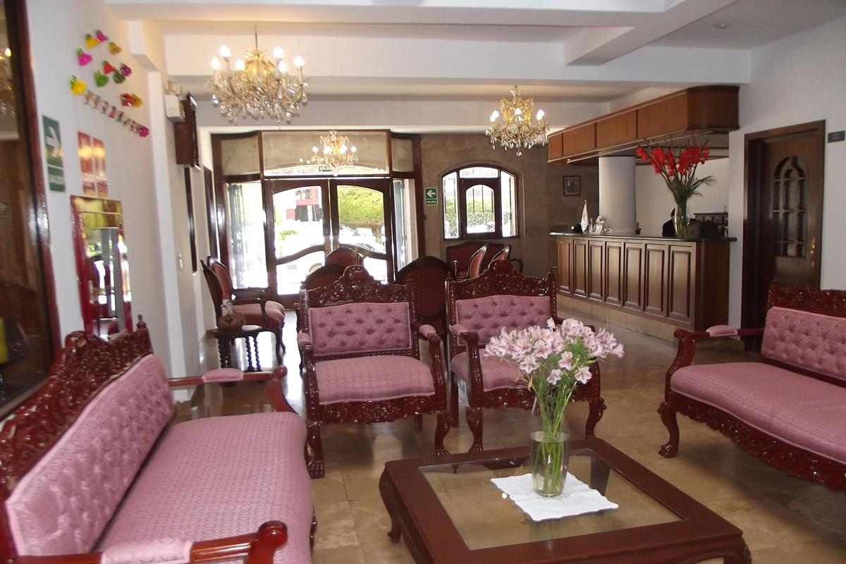 Hotel Hacienda Puno – Lobby