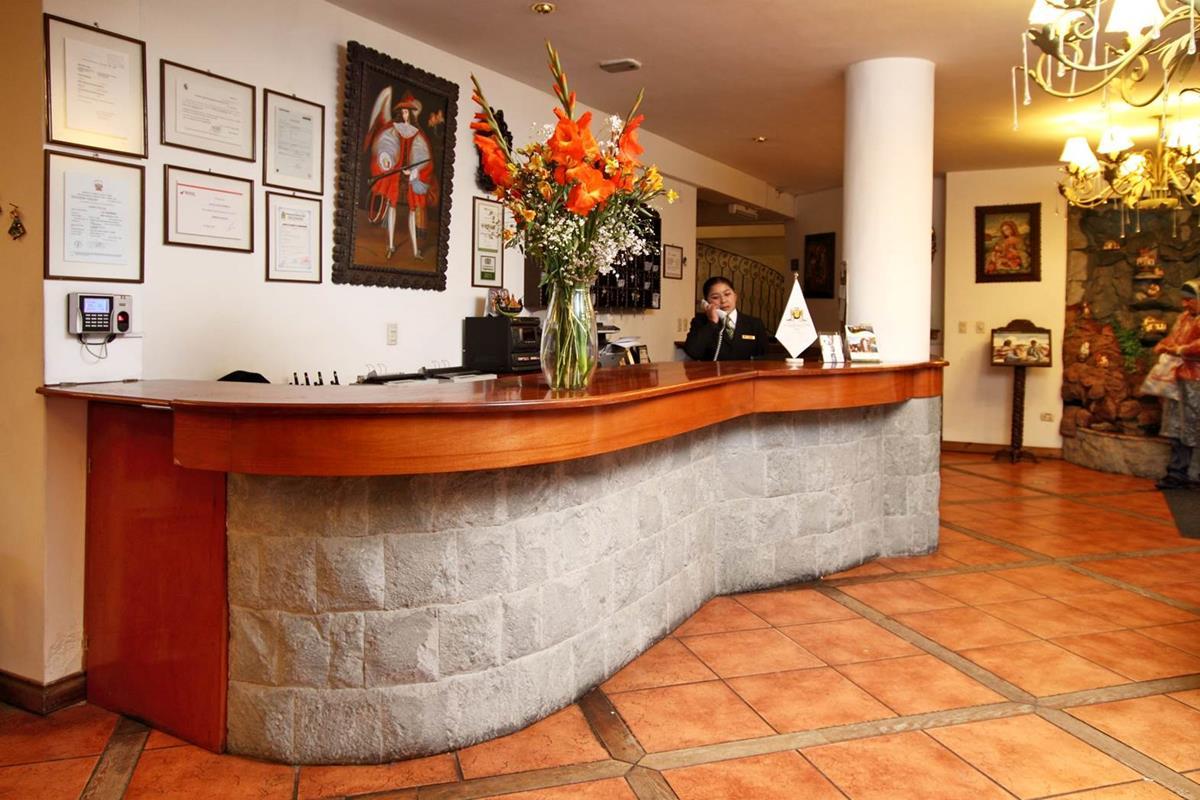 Hotel Hacienda Puno – Recepcja