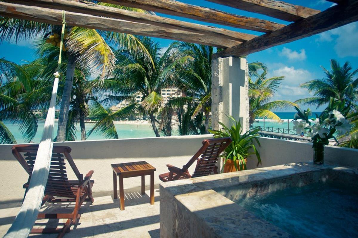 Hotel Na Balam – One Bedroom Ocean View Suite w Jacuzzi Terrace
