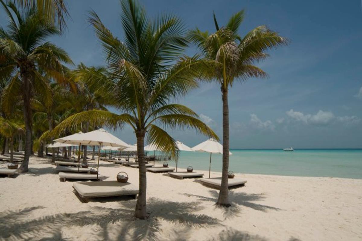 Hotel Na Balam – Plaża