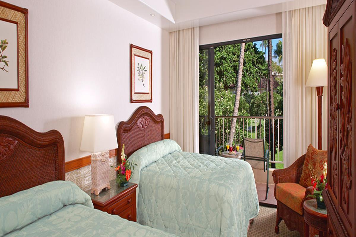 Kaanapali Beach Hotel – Pokój Garden View