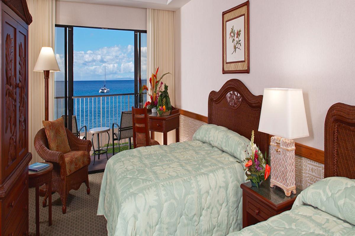 Kaanapali Beach Hotel – Pokój Ocean Front