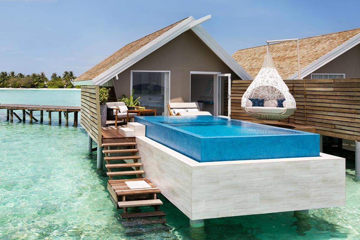 LUX Maldives – Pool Water Villa