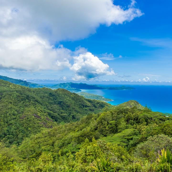 Mahe i Park Morne Seychellios