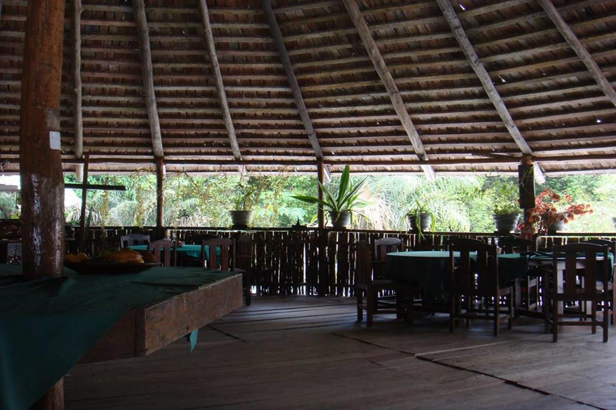 Malocas Jungle Lodge – Jadalnia