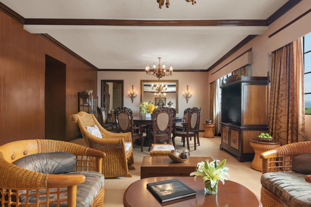 Manila Hotel – Apartament typu Heritage Suite