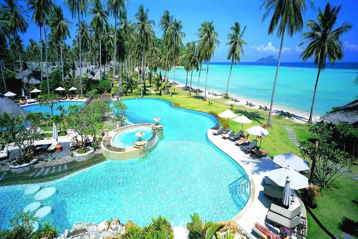 Phi Phi Island Village Beach Resort – Basen