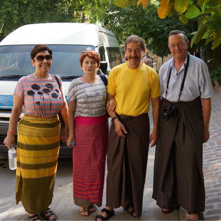 Urszula, Andrzej, Jola i Janusz