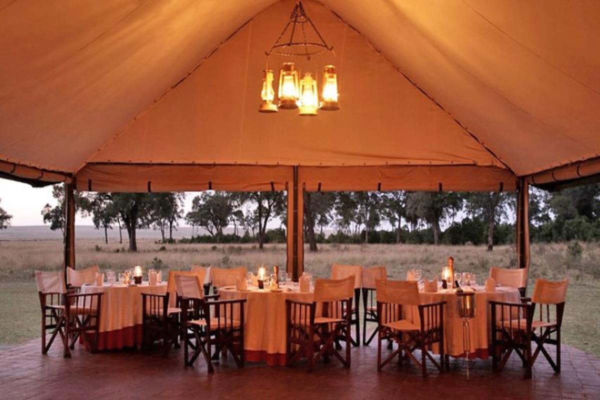 Governors Camp – Restauracja