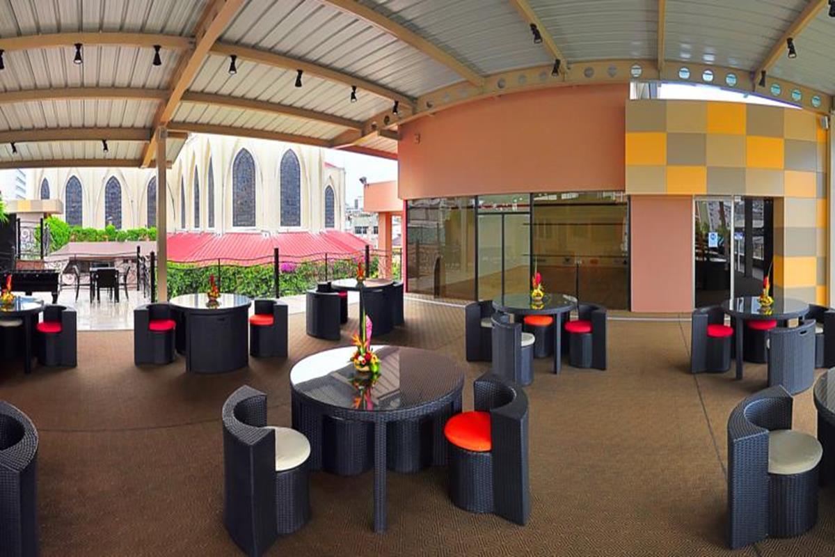 Grand Hotel Guayaquil – Kawiarnia