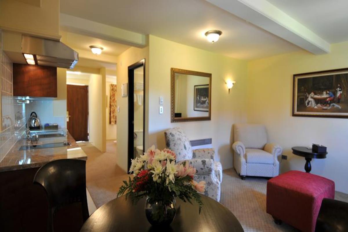 Grand Mercure Nelson Monaco Apartments – Pokój
