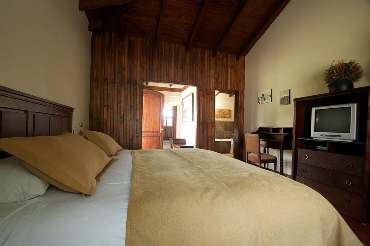 Hacienda Abraspungo – Pokój z podwójnym łóżkiem