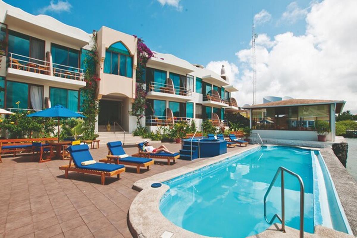 Hotel Solymar – Basen