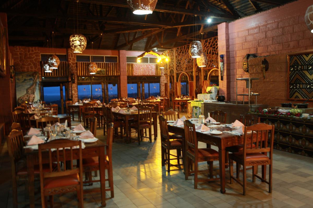 Lake Nakuru Lodge – Restauracja