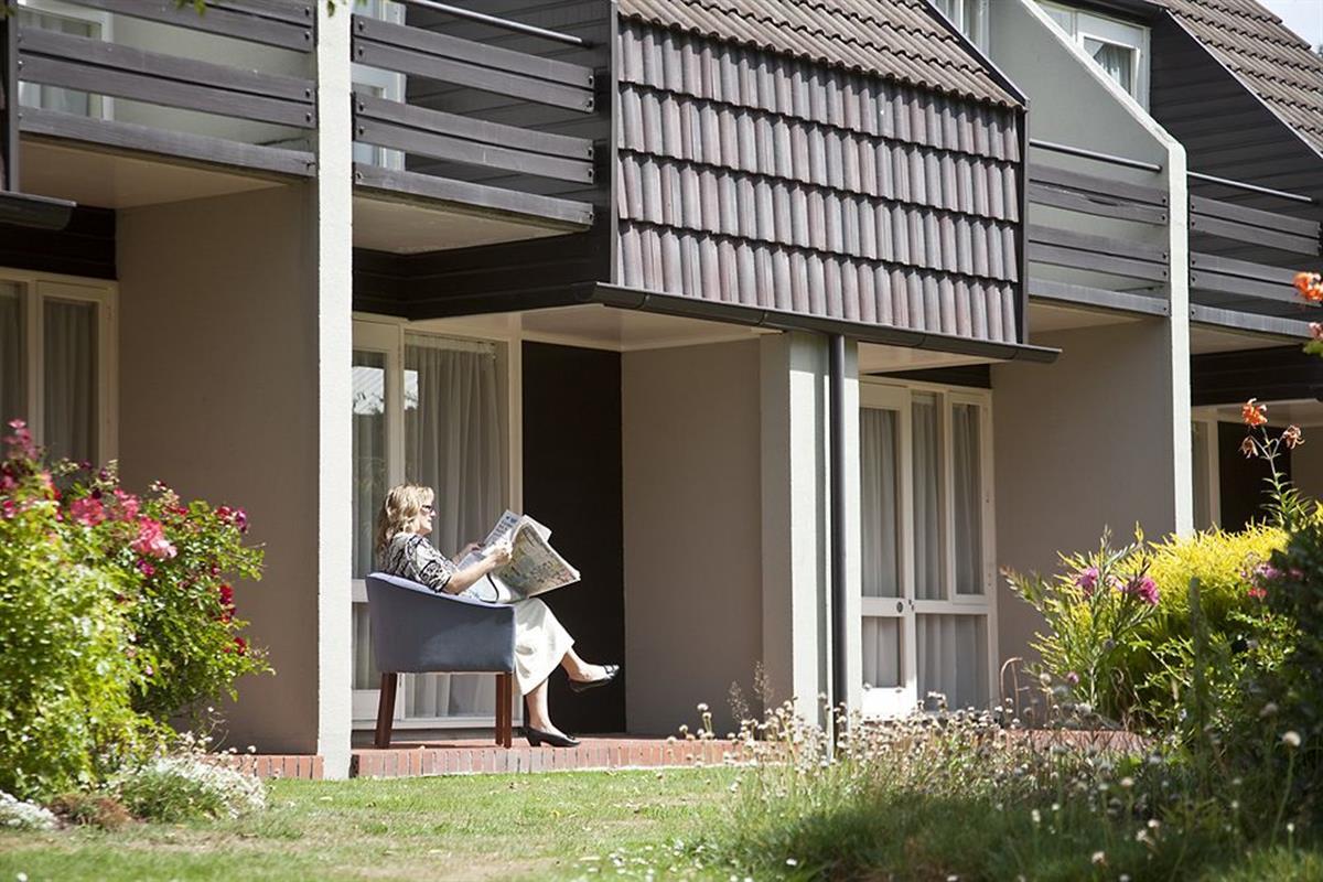 Mercure Dunedin Leisure Lodge – Taras