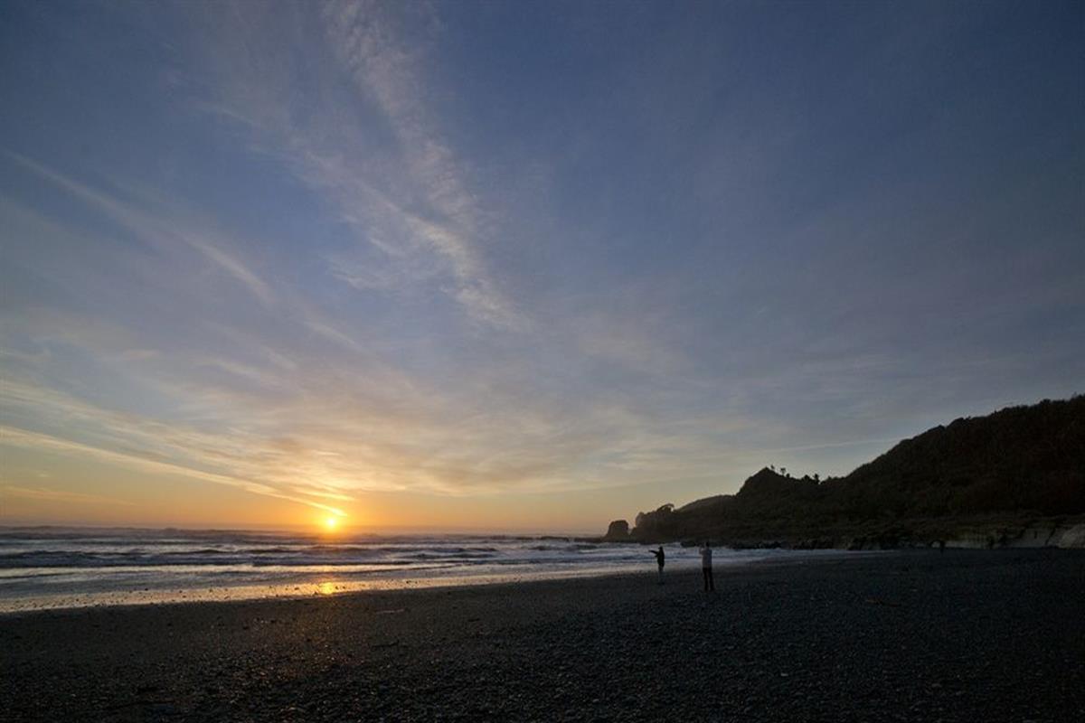 Punakaiki Resort – Plaża
