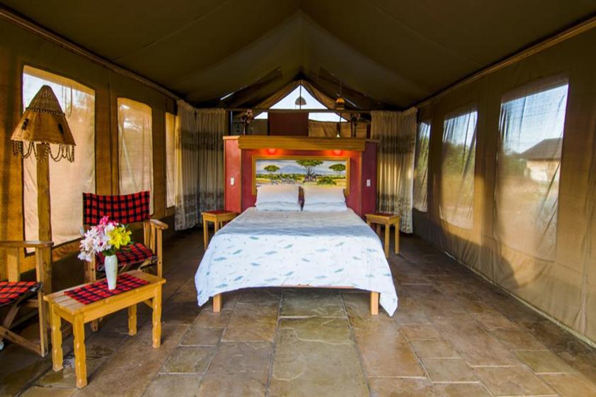 Sentrim Amboseli Lodge – Pokój dwuosobowy z widokiem na góry
