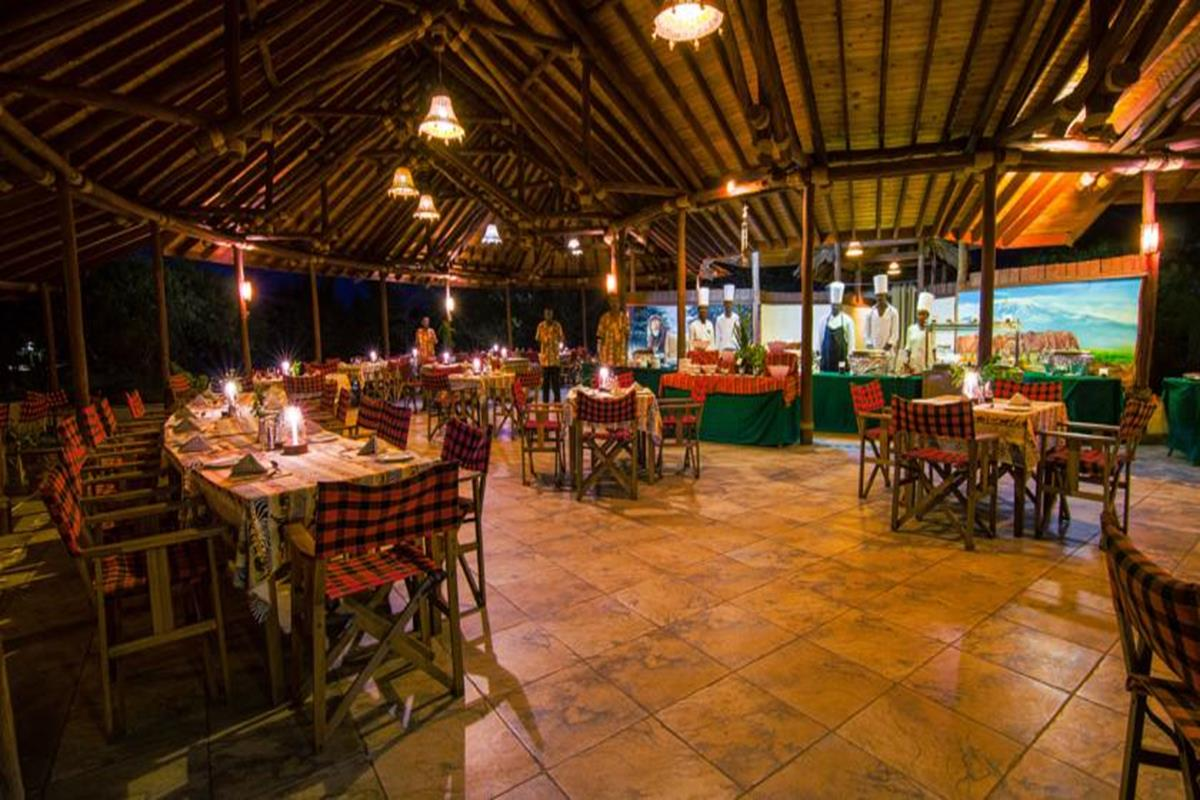 Sentrim Amboseli Lodge – Restauracja