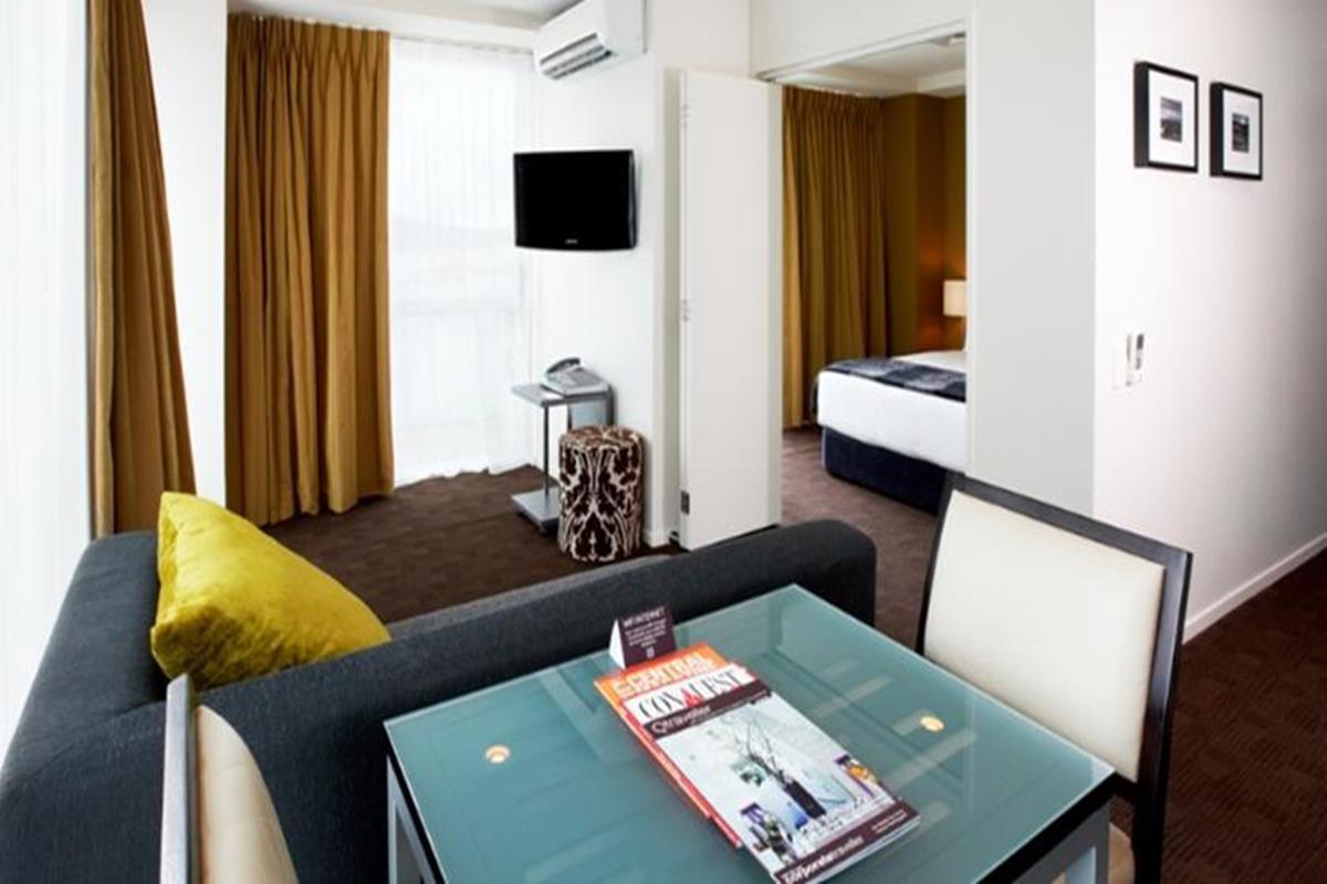 The Quadrant Hotel & Suites – Pokój