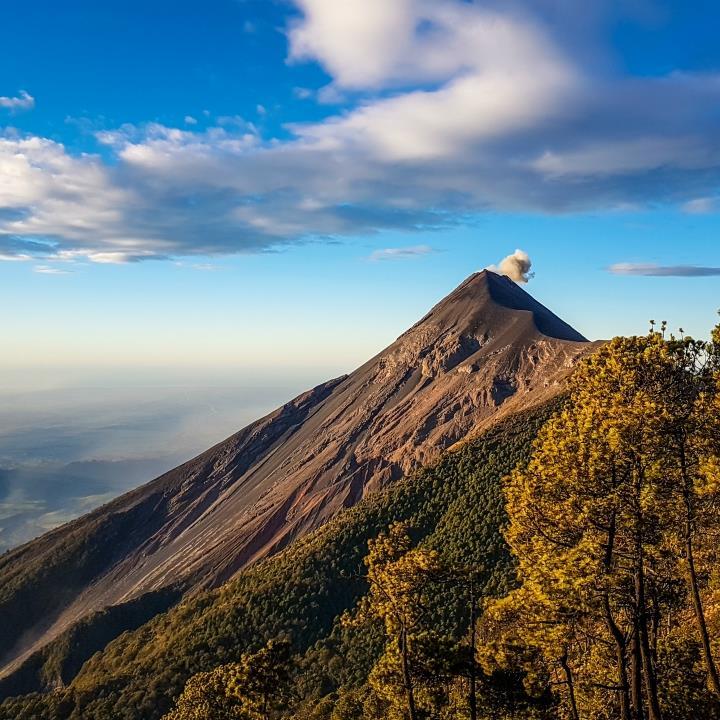 Trekking na wulkan