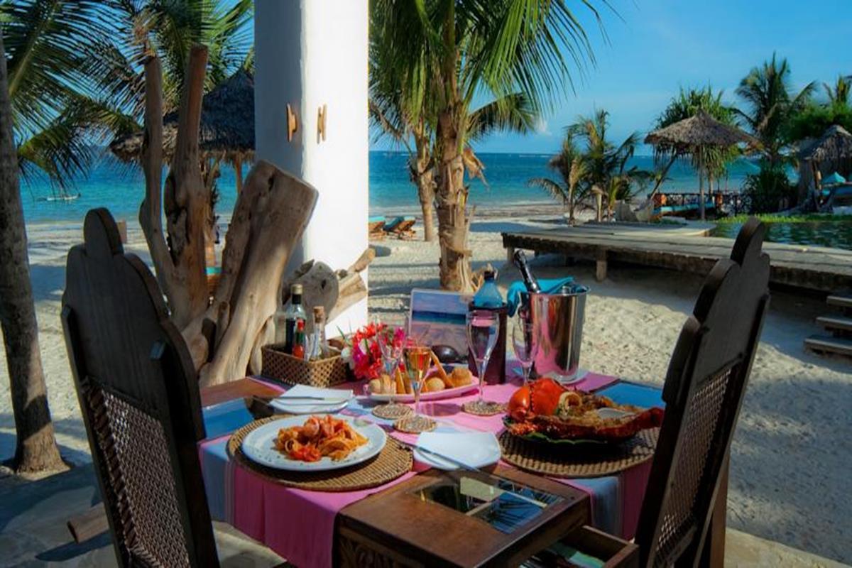 Waterlovers Beach Resort – Restauracja