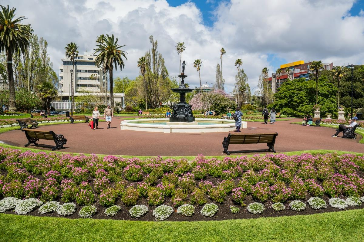 Auckland – Albert Park