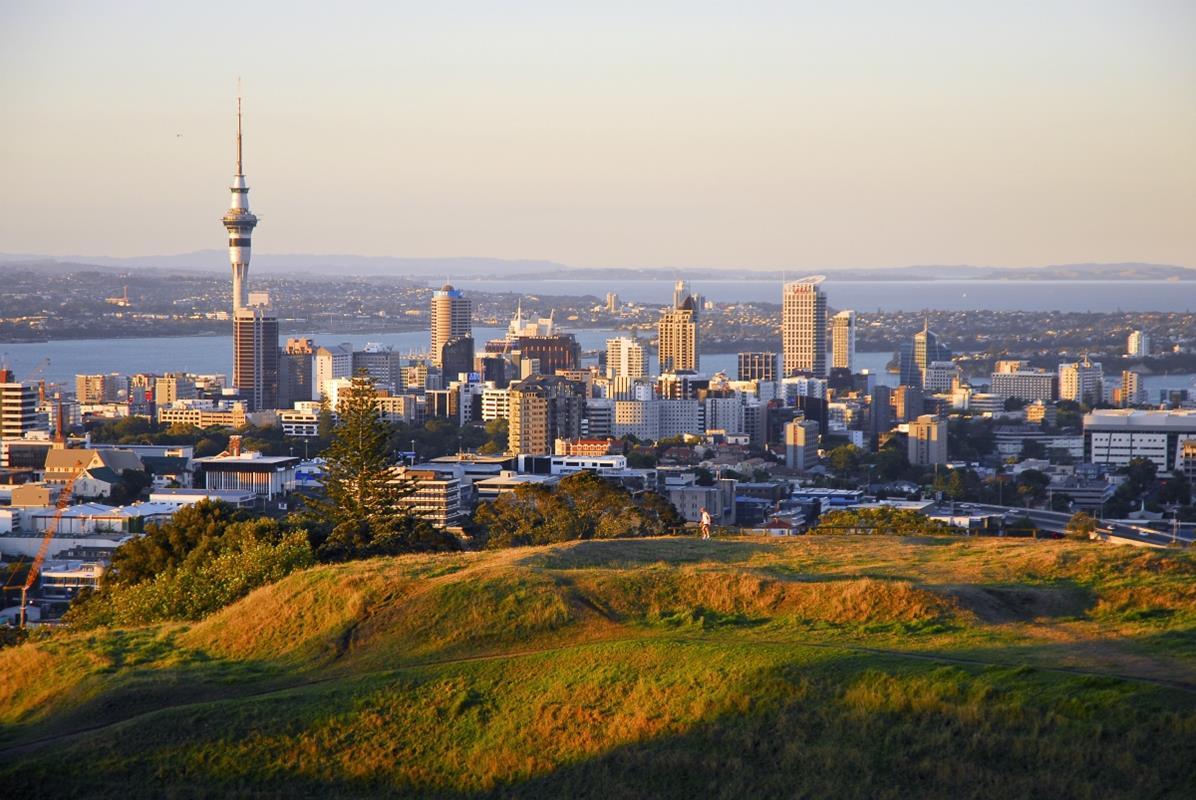 Auckland – Widok z Góry Eden