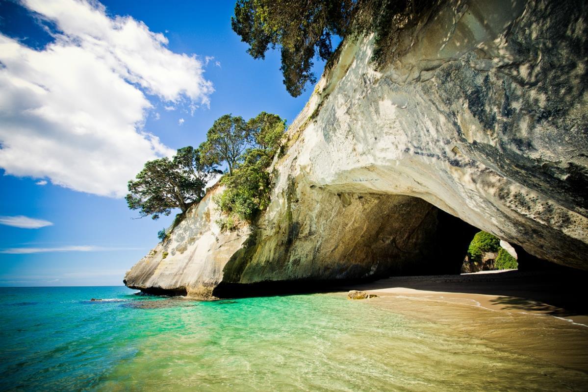 Półwysep Coromandel – Cathedral Cove