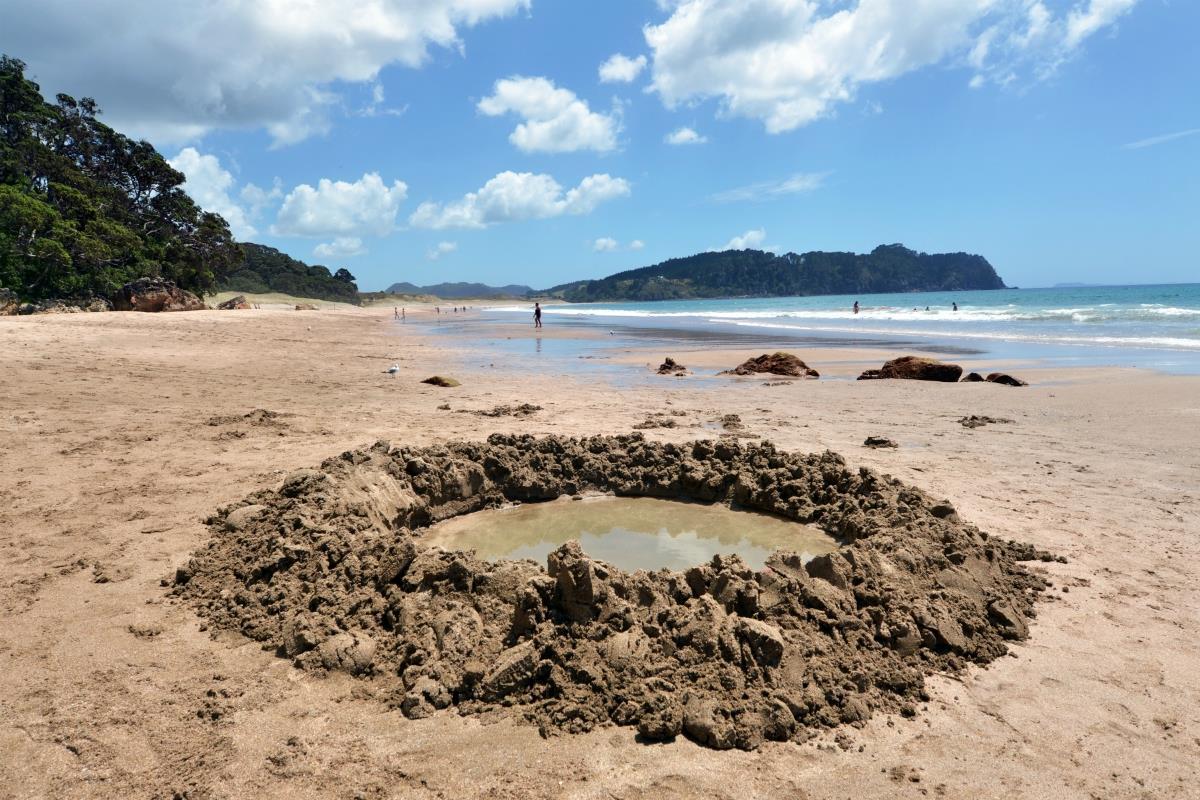 Półwysep Coromandel – Hot Water Beach