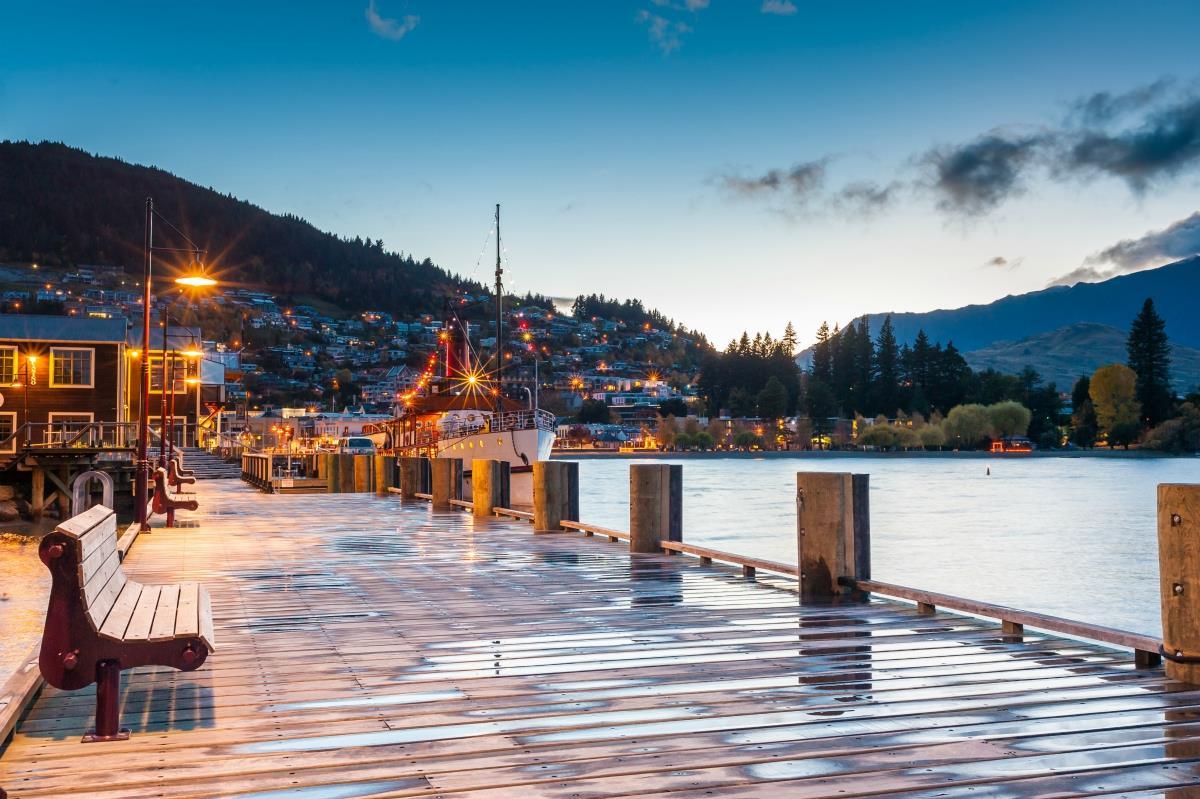 Queenstown – Jezioro Wakatipu
