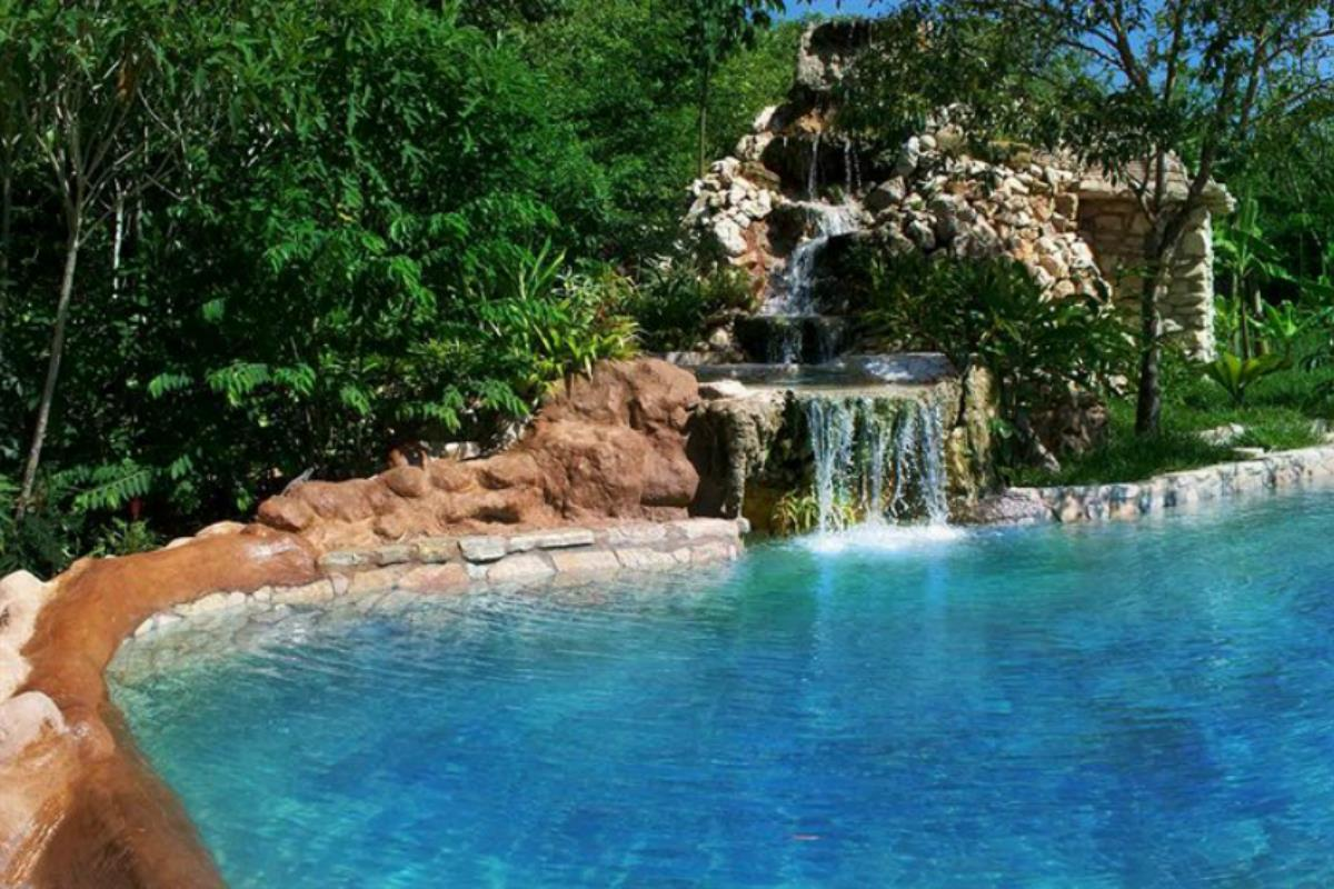 Boutique Hotel Quinta Chanabnal – Basen