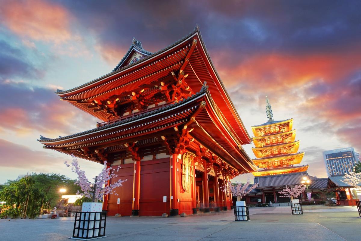 Tokio – Świątynia Sensoji