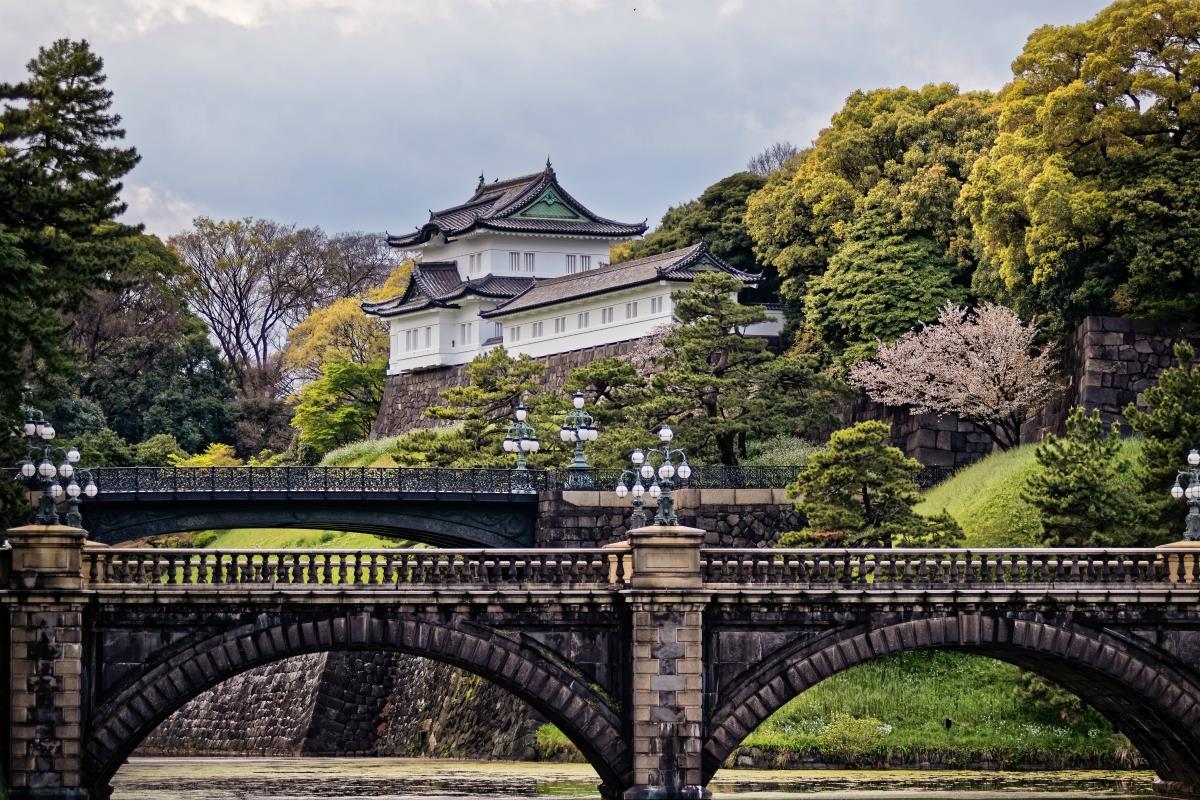 Tokio – Pałac Cesarski