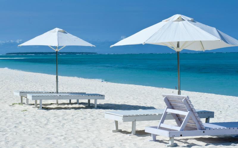 Kadmat Beach Resort – plaża